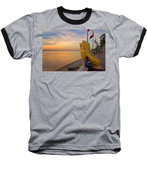 Greeting The Dawn. Baseball T-Shirt