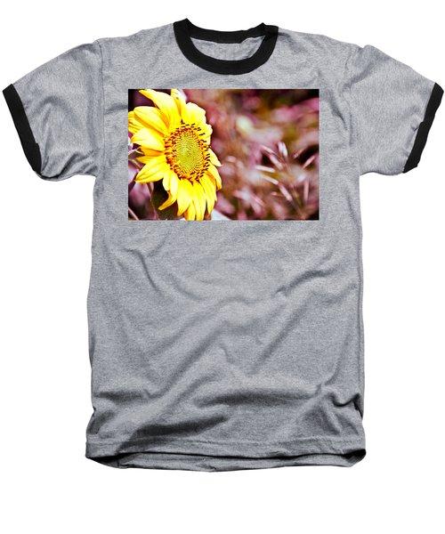Greeting The Sun. Baseball T-Shirt by Cheryl Baxter