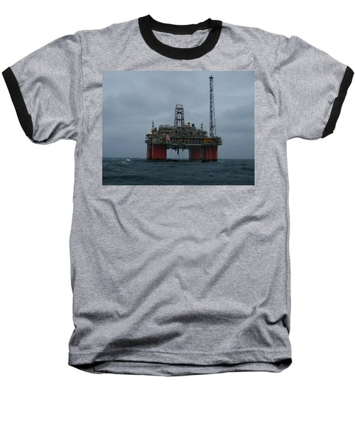 Grey Day At Snorre Baseball T-Shirt
