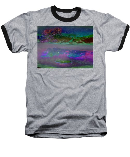 Baseball T-Shirt featuring the digital art Grow by Richard Laeton