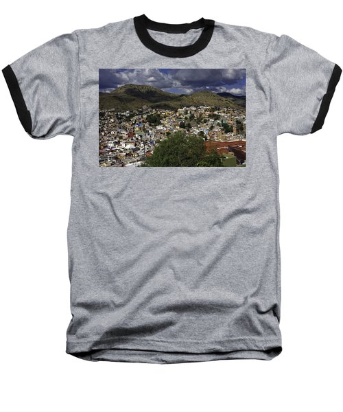 Baseball T-Shirt featuring the photograph Guanajuato Vista No. 1 by Lynn Palmer