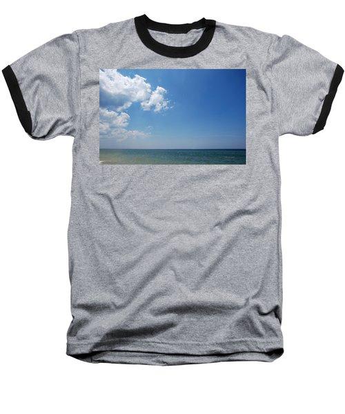 Gulf Sky Baseball T-Shirt by Kay Lovingood