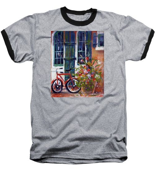 Habersham Bike Shop Baseball T-Shirt