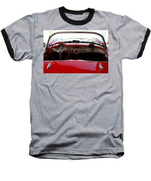 Hackberry Corvette Baseball T-Shirt