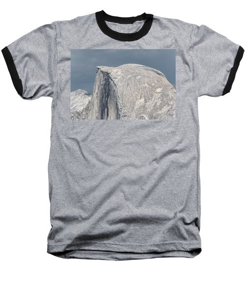 Half Dome From Glacier Point At Yosemite Np Baseball T-Shirt by Michael Bessler