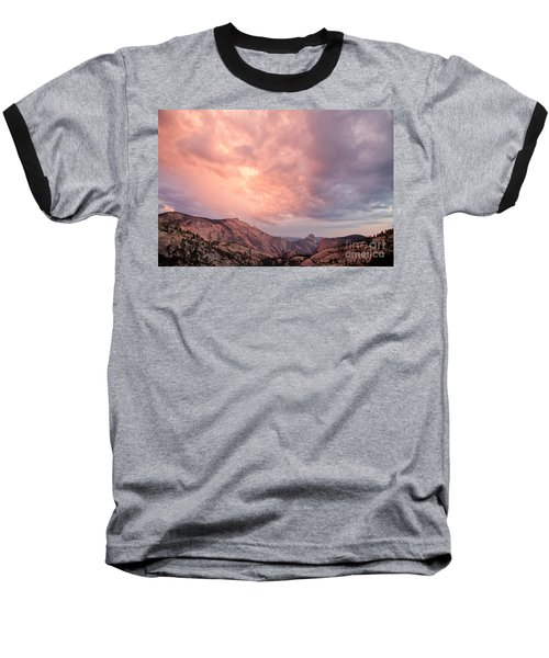 Half Dome From Olmsted Point Baseball T-Shirt