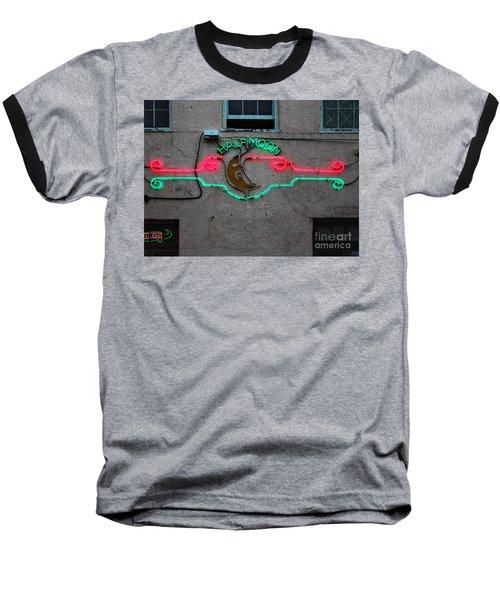 Half Moon Bar New Orleans Baseball T-Shirt by Kathleen K Parker
