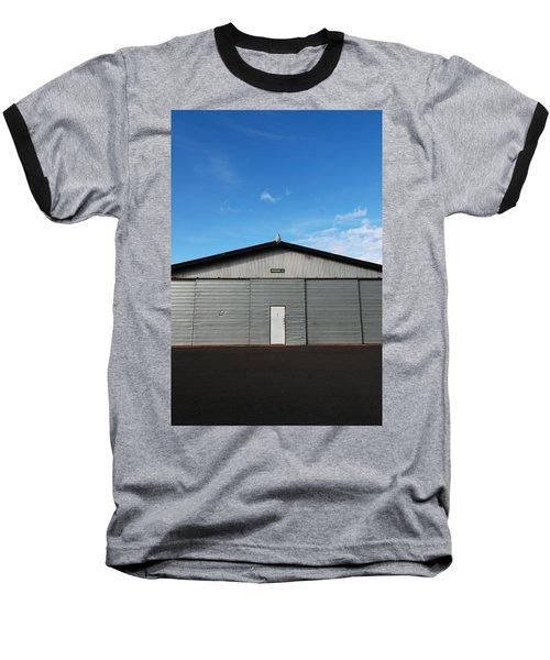 Baseball T-Shirt featuring the photograph Hangar 2 by Kathleen Grace