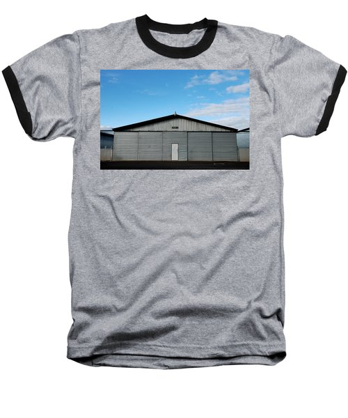 Baseball T-Shirt featuring the photograph Hangar 2 The Building by Kathleen Grace