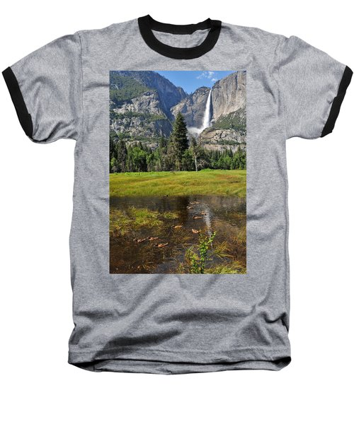 Happy Campers Baseball T-Shirt by Lynn Bauer