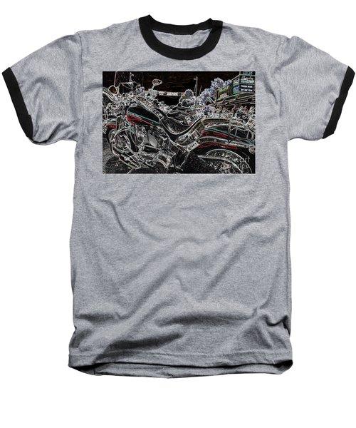 Harley Davidson Style 3 Baseball T-Shirt