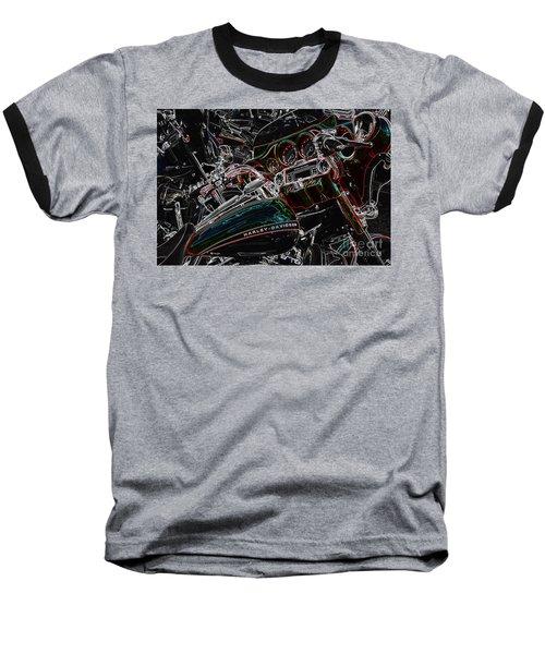 Harley Davidson Style 4 Baseball T-Shirt