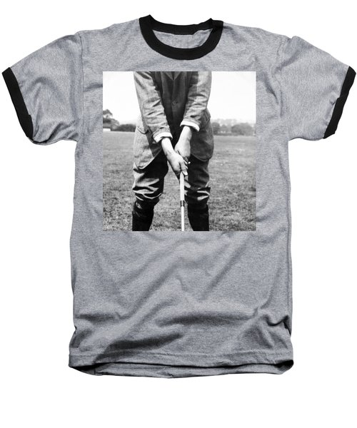 Baseball T-Shirt featuring the photograph Harry Vardon Displays His Overlap Grip by International  Images