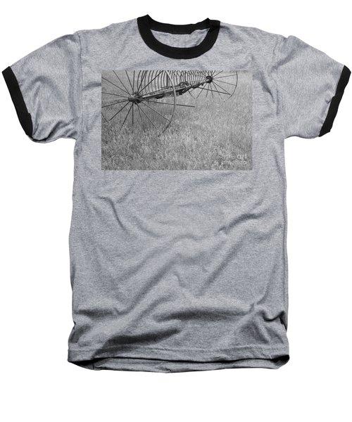 Hay Rake  Baseball T-Shirt
