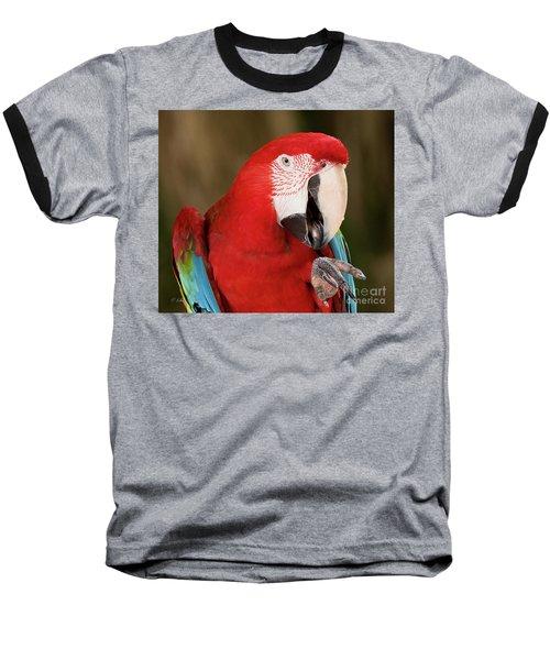 He Went That Way Baseball T-Shirt