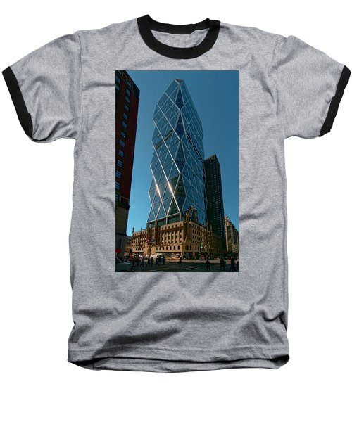Hearst Building Baseball T-Shirt