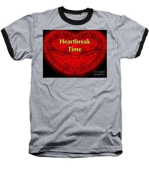 Baseball T-Shirt featuring the photograph Heartbreak by Blair Stuart