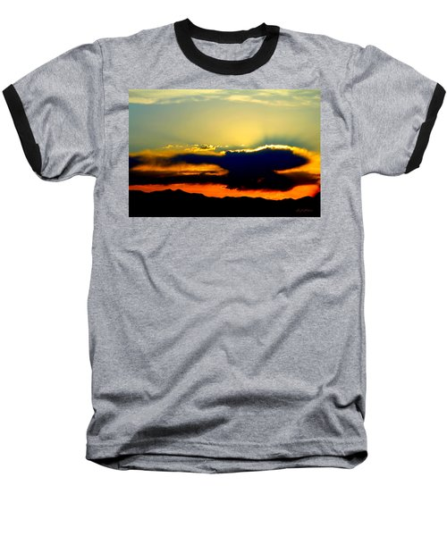 Baseball T-Shirt featuring the photograph Heaven Is Watching by Jeanette C Landstrom