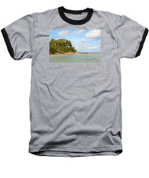 Heavenly Island View  Baseball T-Shirt