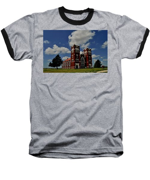 Baseball T-Shirt featuring the photograph Heavenly Sky by Brian Duram