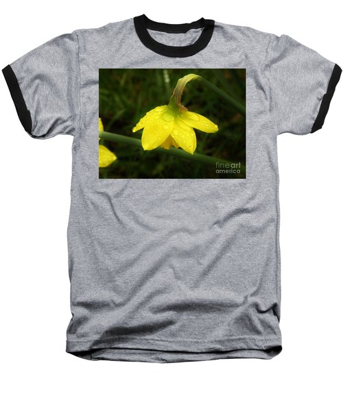 Baseball T-Shirt featuring the photograph Heavy With Water by Sherman Perry
