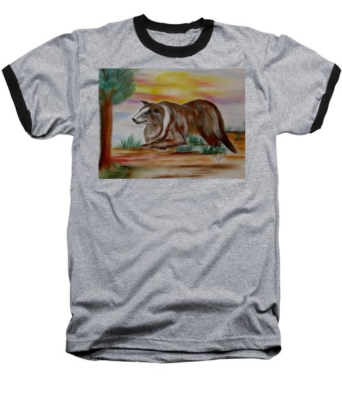 Baseball T-Shirt featuring the drawing Herding Collie by Maria Urso