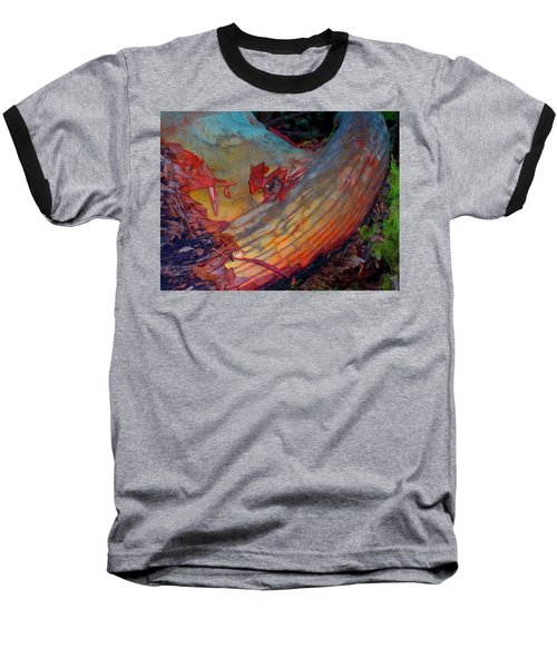 Baseball T-Shirt featuring the digital art Here And Now by Richard Laeton