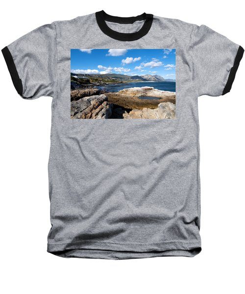 Hermanus Coastline Baseball T-Shirt