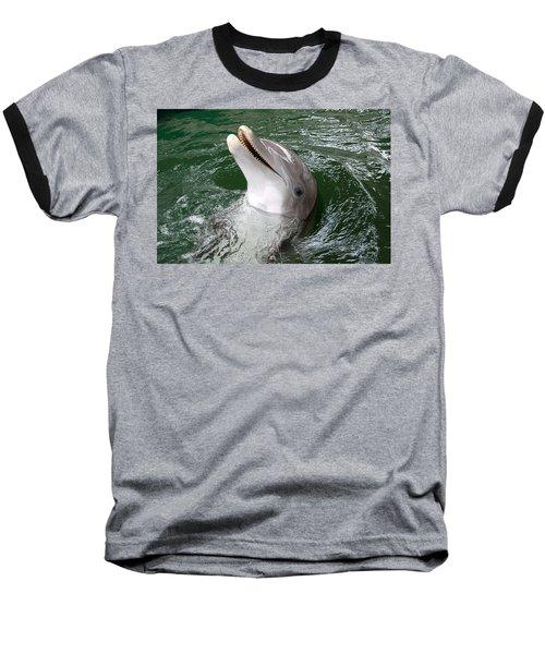 Hi Baseball T-Shirt by John Schneider