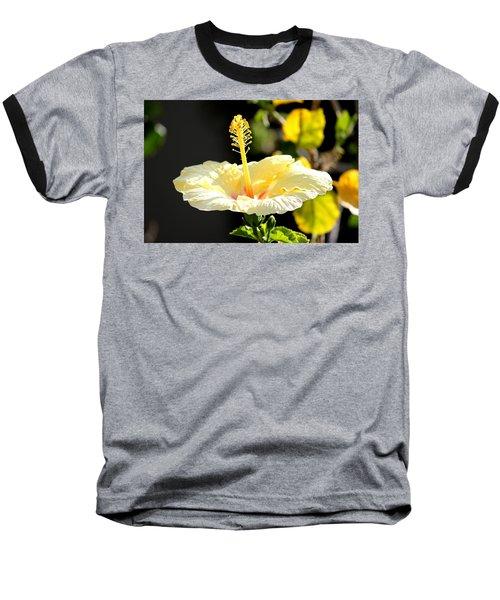 Hibiscus Rising Baseball T-Shirt