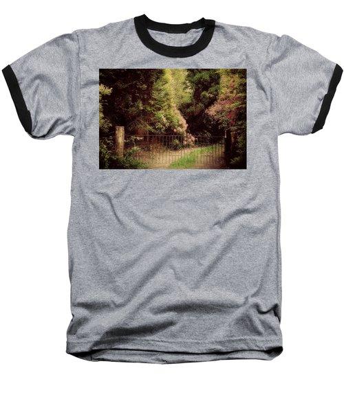 Baseball T-Shirt featuring the photograph Hidden Garden by Marilyn Wilson