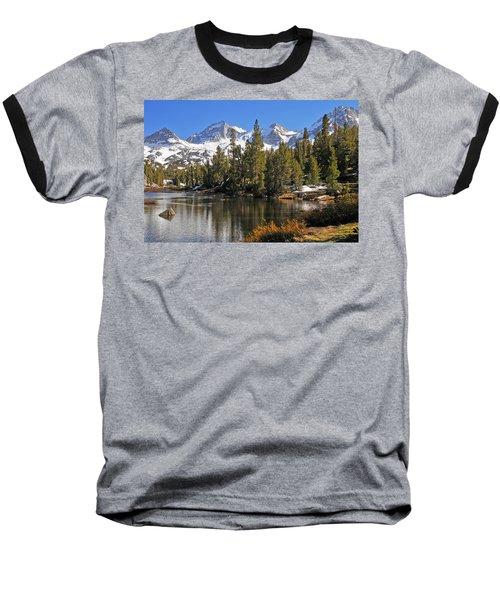 Hidden Jewel Baseball T-Shirt by Lynn Bauer