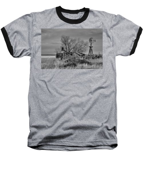 High Plains Wind Baseball T-Shirt