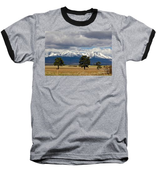 Baseball T-Shirt featuring the photograph High Tatras - Vysoke Tatry by Les Palenik