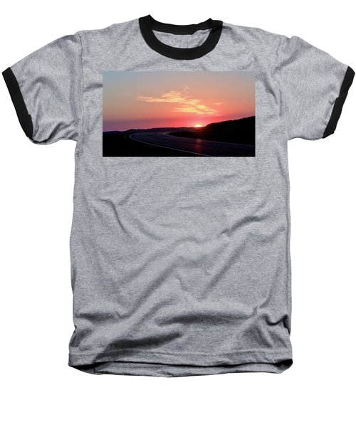 Highway To The Sky Baseball T-Shirt
