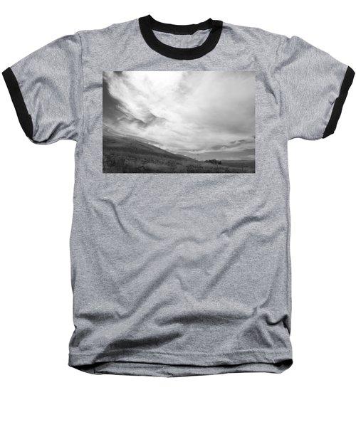 Baseball T-Shirt featuring the photograph Hillside Meets Sky by Kathleen Grace