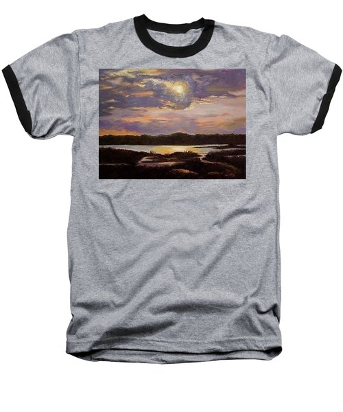 Hilton Head Sunset Baseball T-Shirt