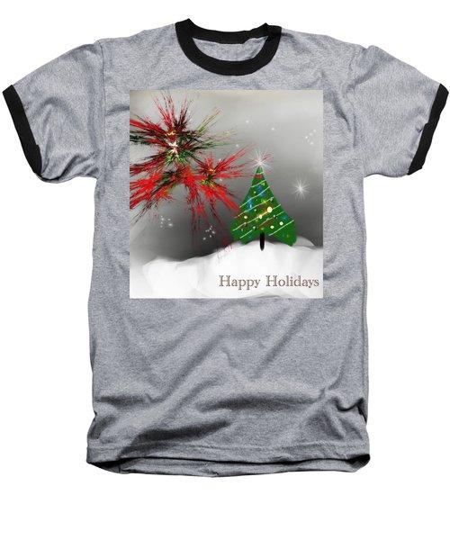 Holiday Card 2011a Baseball T-Shirt