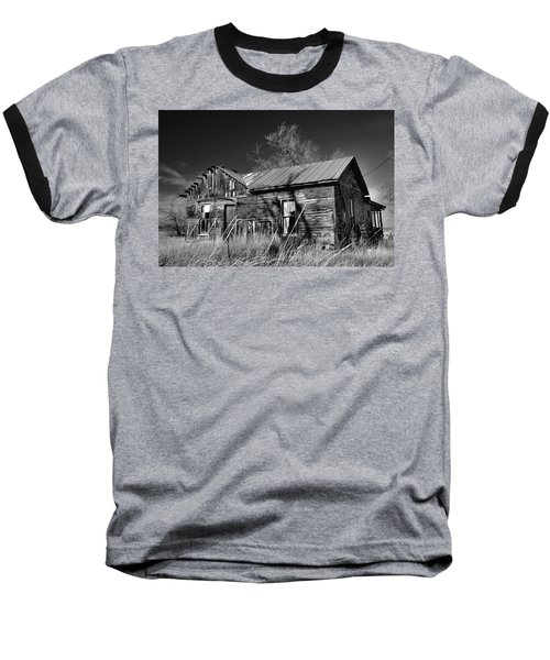 Baseball T-Shirt featuring the photograph Homestead by Ron Cline