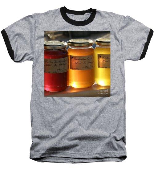 Honey Baseball T-Shirt by Lainie Wrightson