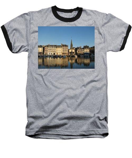 Honfleur  Baseball T-Shirt by Carla Parris