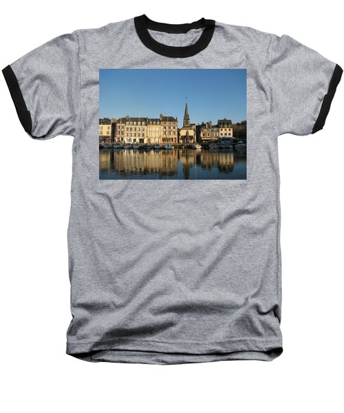 Baseball T-Shirt featuring the photograph Honfleur  by Carla Parris