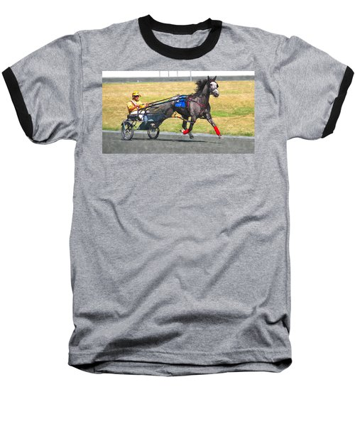 Baseball T-Shirt featuring the photograph Hooray For The Gray by Alice Gipson
