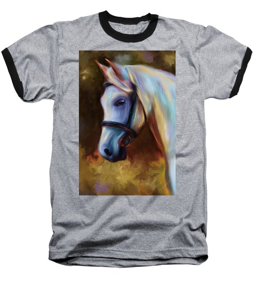 Horse Of Colour Baseball T-Shirt