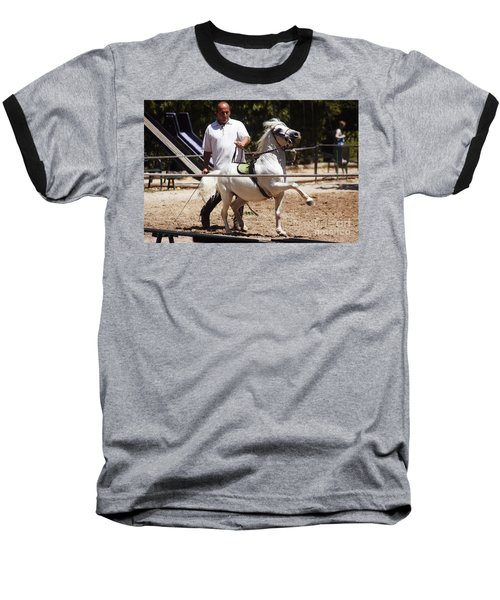 Horse Training Baseball T-Shirt