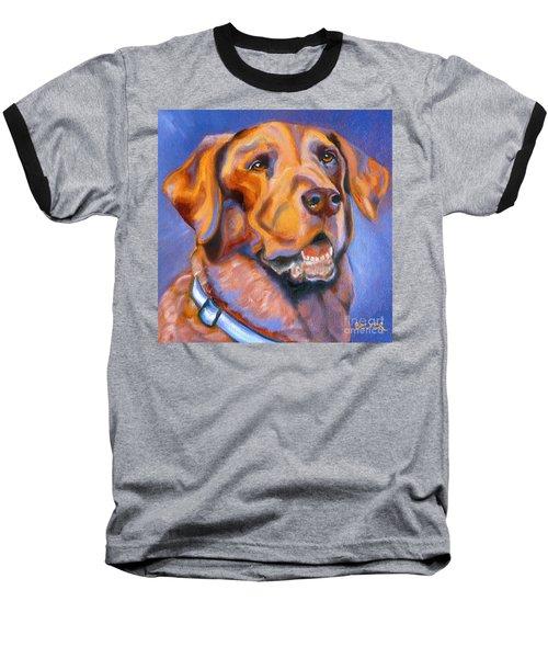 Hot Chocolate Lab Baseball T-Shirt