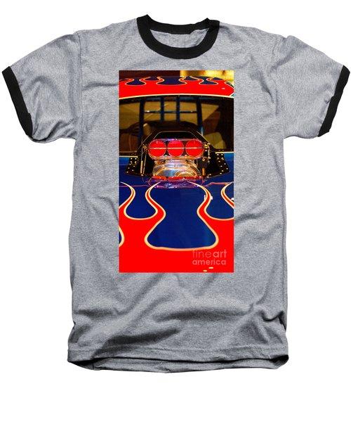 Hot Rod 1 Baseball T-Shirt by Micah May