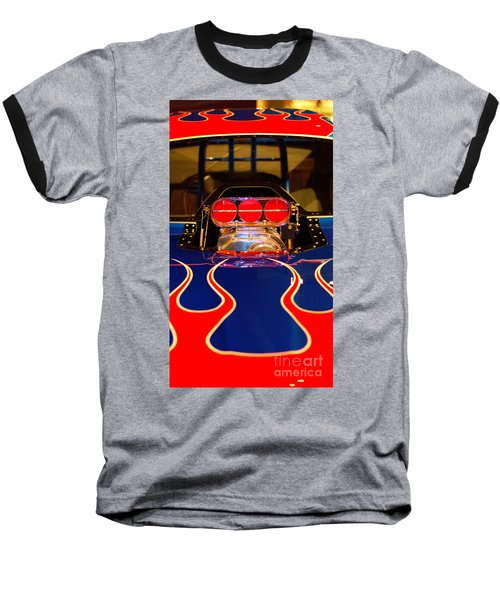 Hot Rod 1 Baseball T-Shirt