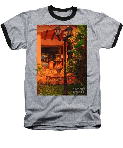 Baseball T-Shirt featuring the photograph Hotel Alhambra by Lydia Holly