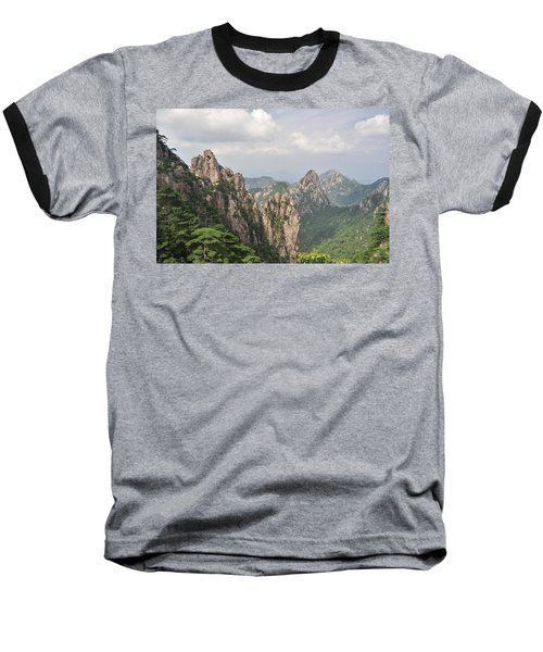 Huangshan Granite 1 Baseball T-Shirt